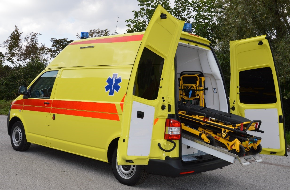 Ambulance vehicle 8